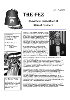 The Fez 2011 07-08 Issue