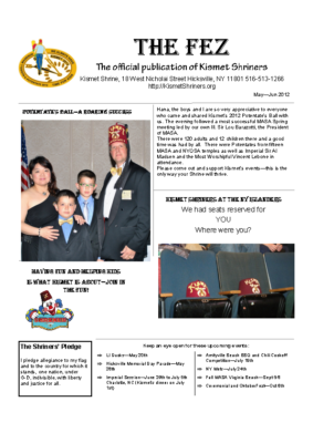 The Fez 2012 05 06 Issue