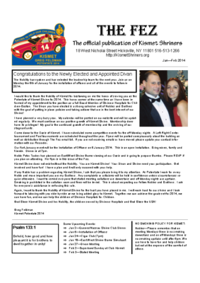 The Fez 2014 01 02 Issue