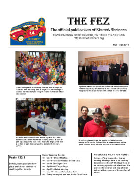 The Fez 2014 03 04 Issue