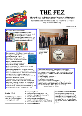 The Fez 2014 05 06 Issue