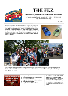The Fez 2014 07 08 Issue