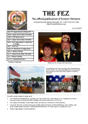 The Fez 2015 07 09 Issue